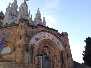 The church at Tibidabo