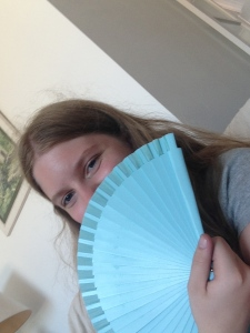 A fan, also a very useful purchase