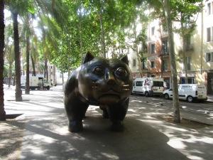 Fat Cat statue