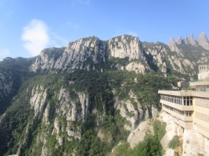 The mountain from the monastery