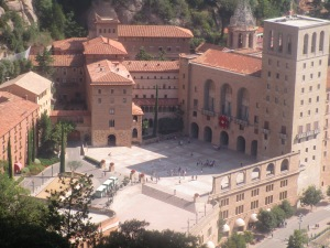The Monastery from the mountain