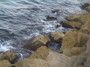Waves at Sitges