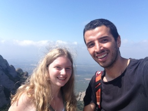 Us at the top of Sant Jeroni :)