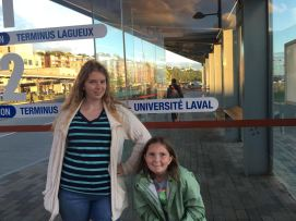 Bus stop for Laval