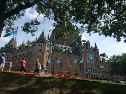 New view of Chateau Frontenac