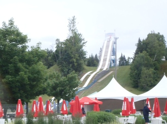 Everest slide - best one in the park!