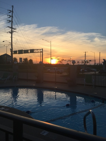 Sunrise in Missouri