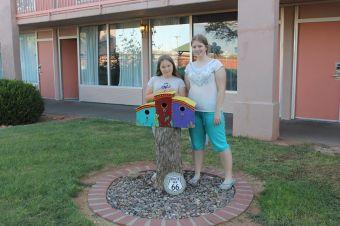 Rt. 66 motel photo shoot