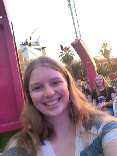 Carnival rides on Campus