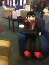 My advisor's office is ready for Halloween