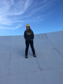 Standing on the VLBA!