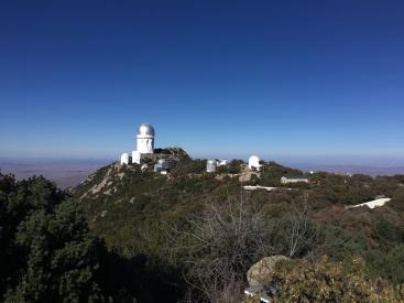 Kitt Peak's many telescopes