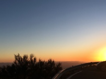 Sunset on Kitt Peak