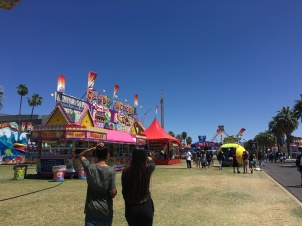 Entering the carnival