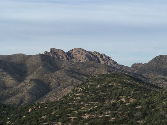 Cochise Head - look from the side