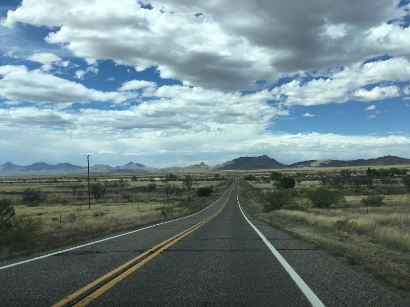 The drive back to Tucson