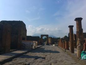 Forum and Vesuvius