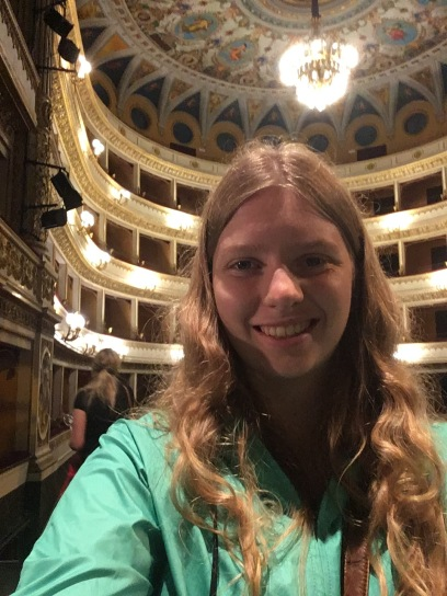 In the opera house