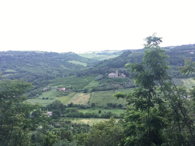 Overlooking Umbria