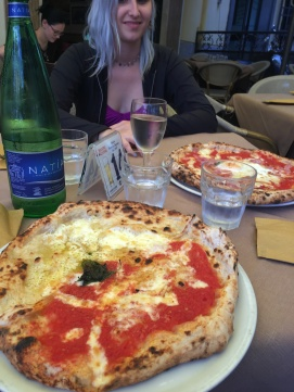 Half Bianca and half Margherita