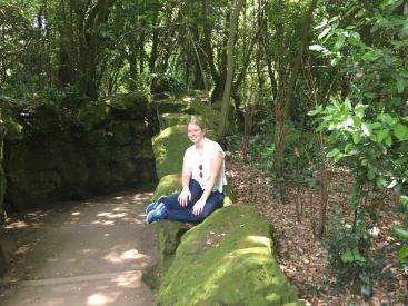 Posing in the English Gardens