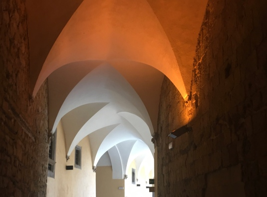 Hallway at Etruscan Museum