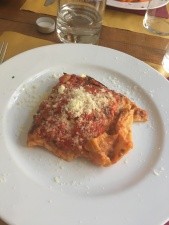 Lasagna in Rome