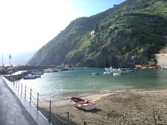Vernazza's beach