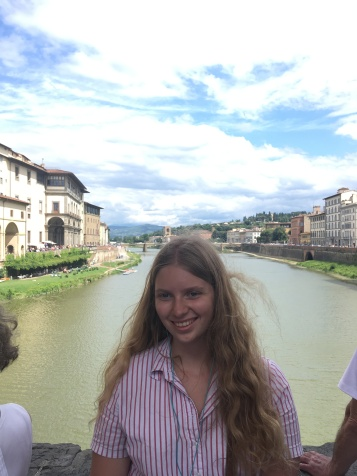On the Ponte Vecchio