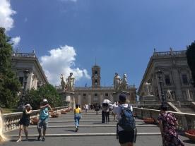 Climbing Capitoline Hill