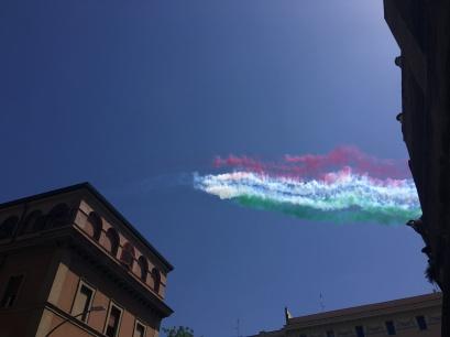 Planes celebrating Republic Day