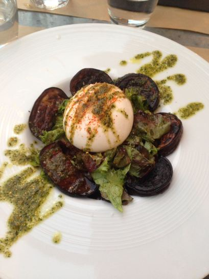 Eggplant Burrata
