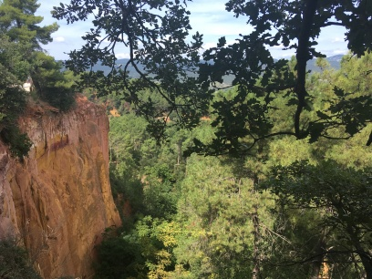Cliffs of Roussillon