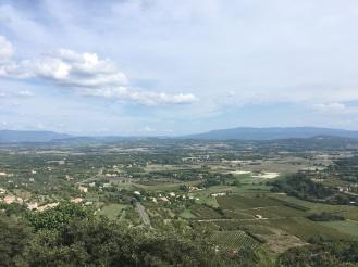 Over the Lubéron