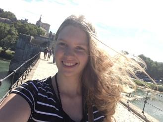 Literally sur le pont d'Avignon