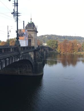 Across the Vltava
