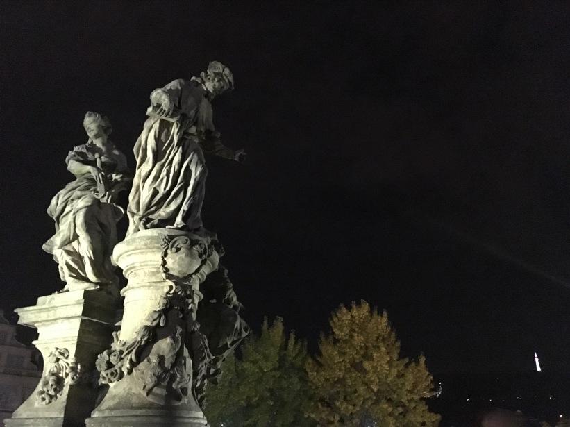 Statues on the Charles Bridge