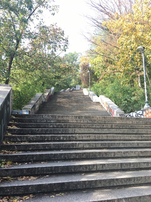 Wow more stairs!