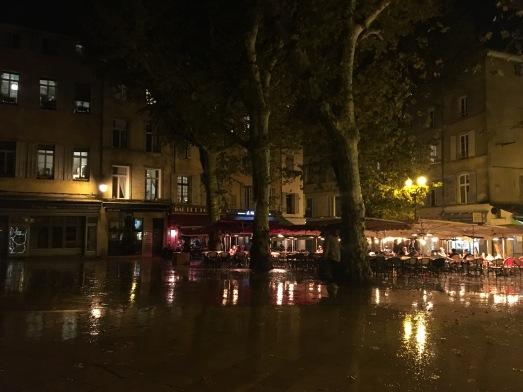 Rainy Aix