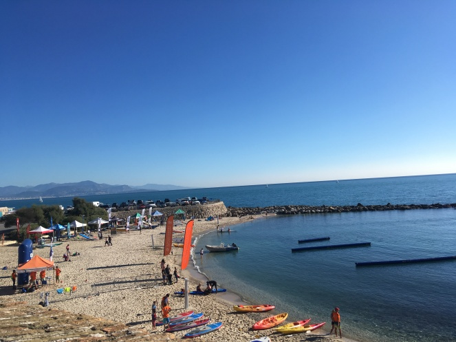 Beach of Antibes