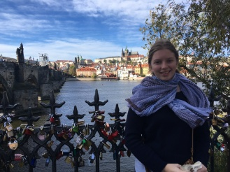 By the Charles Bridge