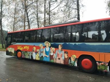 Sound of Music bus