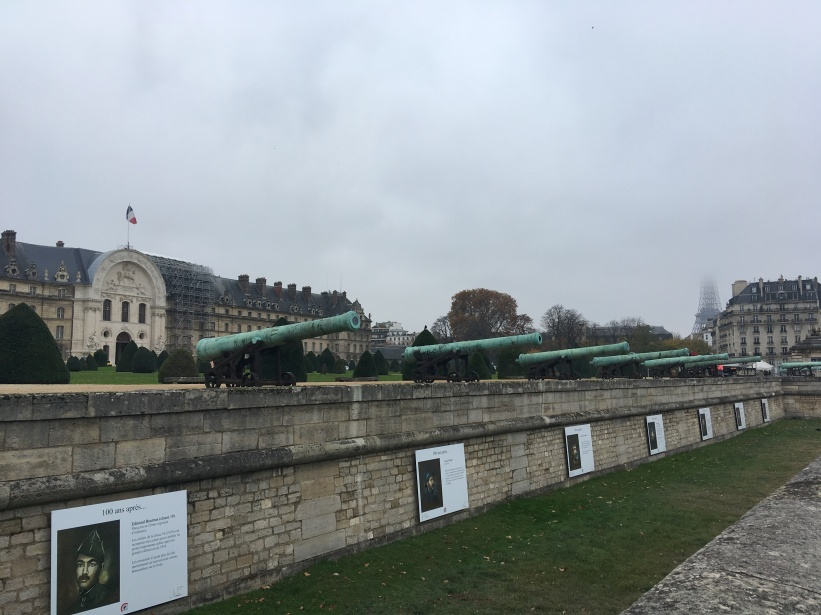 Military Museum with first view of Eiffel Tower