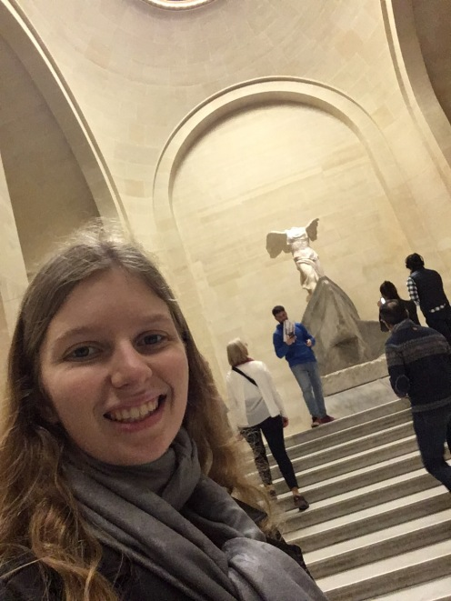 Inside the Louvre!