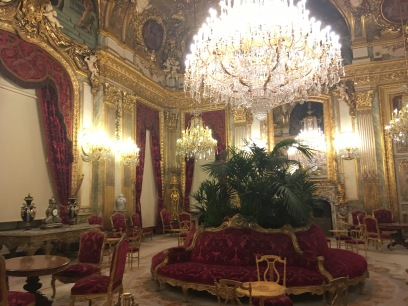 Napoleon III's chairs that I really wanted to sit in
