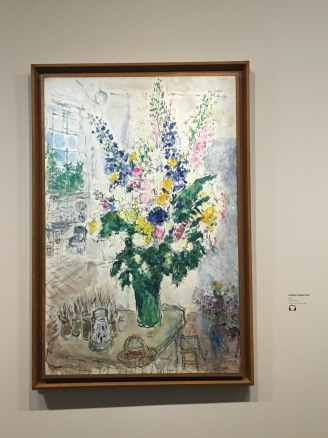 Flowers in Chagall's studio