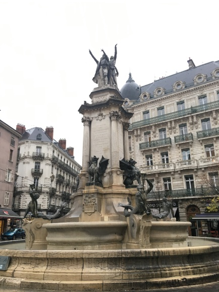 Fountain in Grenoble