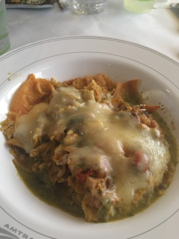 Baked Chilaquiles